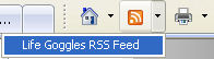 IE RSS icon