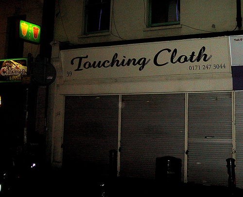 Touching Cloth