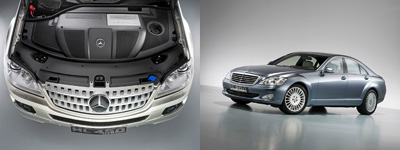 Mercedes BlueTec range