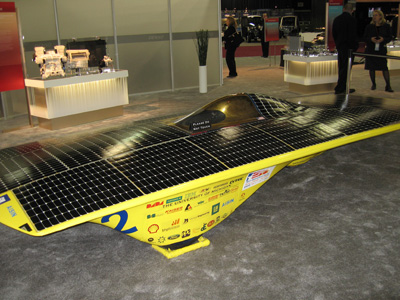 University of Michigan Momentum 2005 Solar car