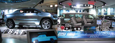 Toyota A-BAT and Fuel Cell Hybrid