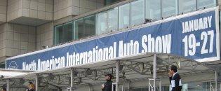 Detroit Auto Show banner