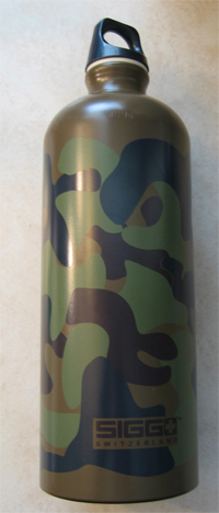 SIGG Aluminum reusable bottle
