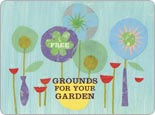 Starbucks Coffee grounds for your garden