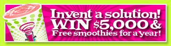 Planet Smoothie Competition Banner