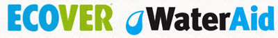 Ecover and Water Aid logos