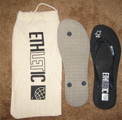 Ethletic Flip Flops