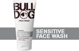 Bulldog face wash