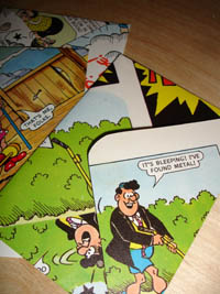 Comic Envelopes