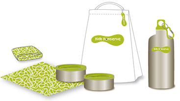 Kids Konserve Reusable lunch kit