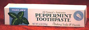Trader Joes All Natural Toothpaste