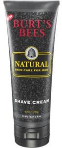 Burt Bees shave cream