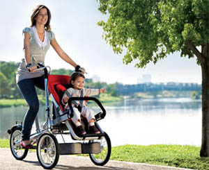 Convertible Bicycle And Stroller/Buggy – Life Goggles