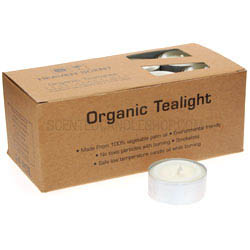 Organic tea lights